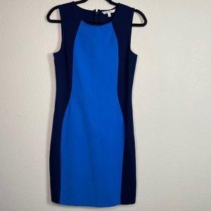 41 Hawthorn colorblock sheath dress
